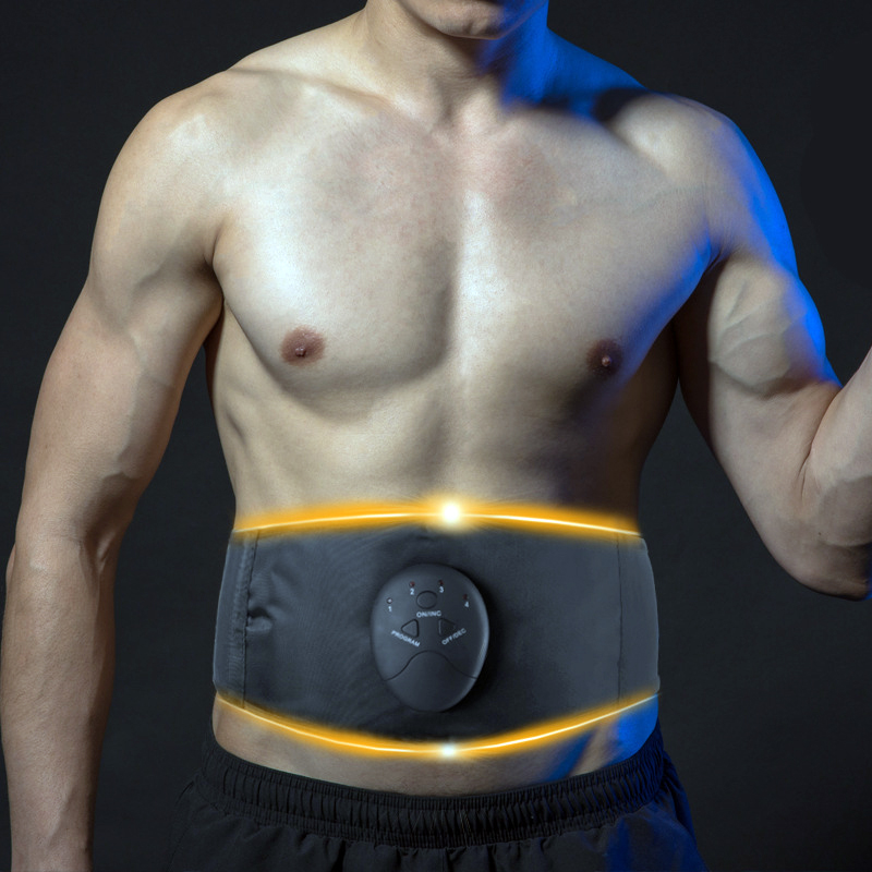 Muscle Vibration Abdominal Trainer Body Slimming Belt EMS Massager Abdominal Stimulator Waist Support Fat Burning Weight Loss