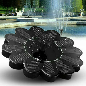 Solar Fountain Garden Kit Solar Water Pump Outdoor Landscape Fish Pool Pond Solar Water Pump Floating Fountain Garden Decoration(China)