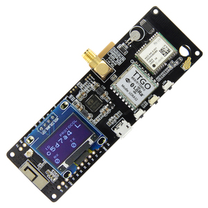 Image 3 - TTGO T Beam V1.1 ESP32 433/868/915/923Mhz WiFi Bluetooth Module ESP32 GPS NEO 6M SMA 18650 Battery Holder With OLED