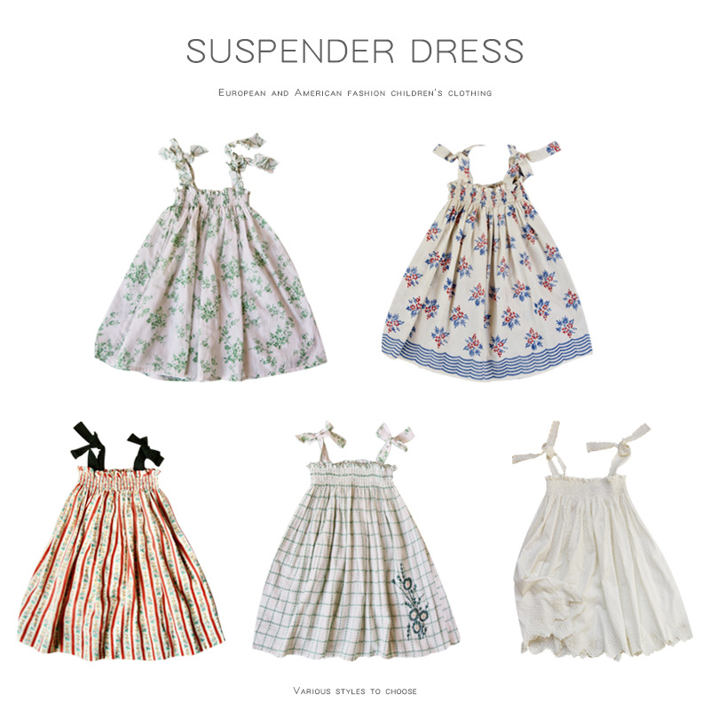 BoBomoon 2020 NEW Summer Baby Girls Casual Dresses Fashion Beach Christmas PARTY Dress Girl Thanksgiving Girl Princess Dress