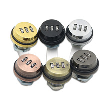 3-digit Combination Mailbox Lock  Rotary Tongue Cam Lock for Cabinet Drawer Mailbox Cabinet Door Security Home Box Lock