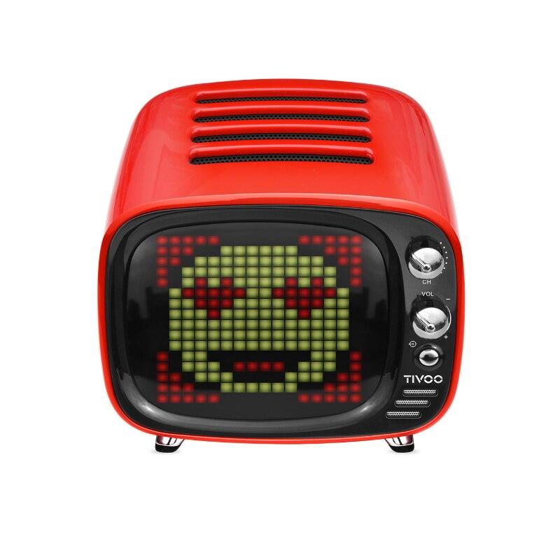 Réveil intelligent de horloge LED d'art de Pixel Audio de haut-parleur sans fil portatif extérieur de Bluetooth avec l'application