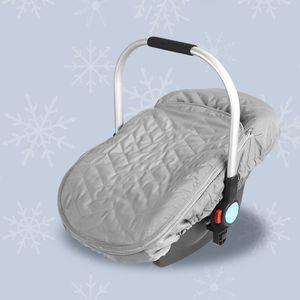 Image 5 - Housse pour nouveau né, pour siège de voiture, pour bébé, couverture pour siège de voiture, résistante aux intempéries et au froid, couverture, auvent, pour poussette, accessoire