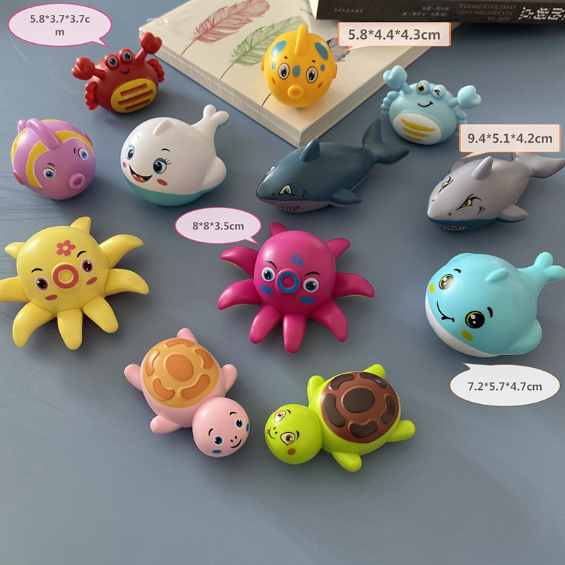 One Piece Inertia Car Mini TOY Fish Bird World With Cute Shape For Kid Children Toys Baby Love Kawaii Pull Back Game Gift Model