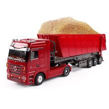 Детский игрушечный грузовик с дистанционным управлением 24 ГГц
