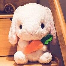 43 см милый мягкий кролик, плюшевая игрушка, мягкие игрушки, подушка, кролик, детская подушка, кукла, подарок на день рождения для детей, сопро...