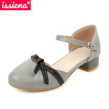 ISSIENA 2021 Kids Shoes Spring Summer Round Toe Girls High H
