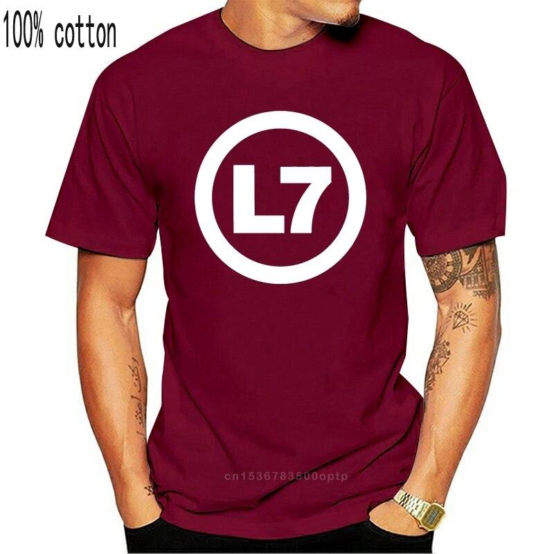 L7 bande LOGO hommes noir Rock T-shirt nouvelles tailles S-XXXL