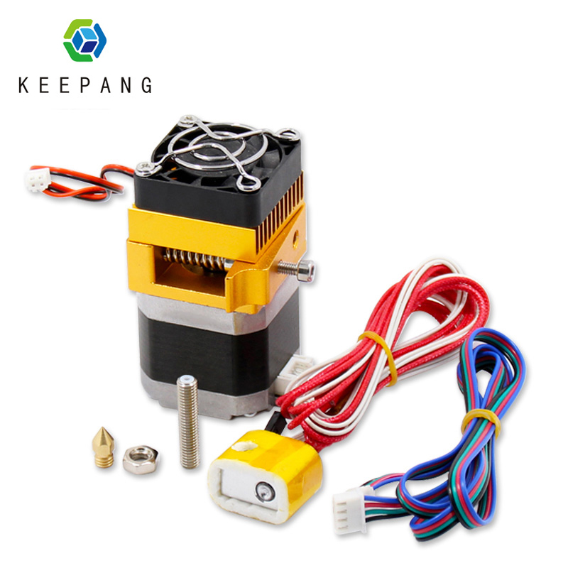 MK8 Extruder J-head Hoten 3d Printer extruder 0 4mm Nozzle Kit 1 75mm Filament Extrusion with Motor Throat Aluminum Part