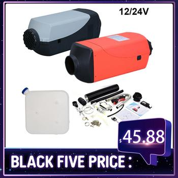 5KW 8KW 12V24V Auxiliary Heater Parking Air Fuel Oil Heating Machine &LCD Monitor Air Diesels Fuel Heater Single Hole For Trucks