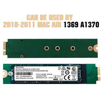 New 64GB 128GB 256GB 512GB 1TB SSD For 2010 2011 Macbook Air A1369 A1370 ssdMC503 MC504 MC965 MC966 MC968 MC969