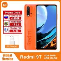 Versione globale Xiaomi Redmi 9 T 4GB 64GB /128GB 9 T Smartphone Snapdragon 662 48MP Quad Camera 6000mAh 6.53