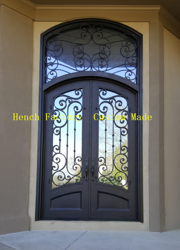 Shanghai Hench Brand China Factory 100% Custom Made Sale Australia Iron Doors And Gates