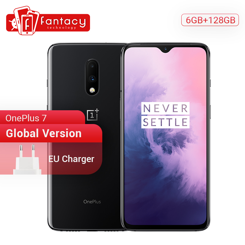 Global Version OnePlus 7 6GB RAM 128GB ROM Smartphone Snapdragon 855 6.41 Optic AMOLED Display Fingerprint 48MP Camera UFS 3.0