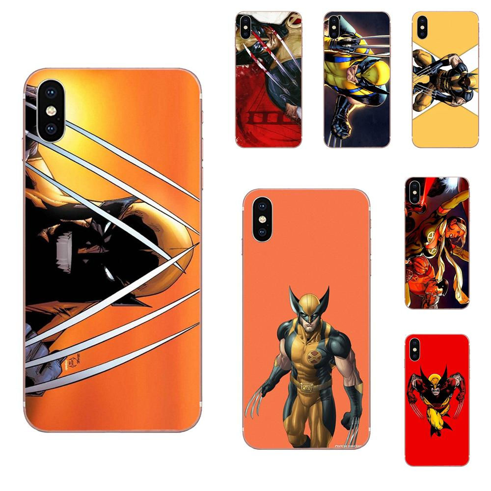 High Quality Multi Colors For Xiaomi Redmi Mi 4 7A 9T K20 CC9 CC9e Note 7 9 Y3 SE Pro Prime Go Play Wolverine Comics image