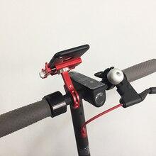 電話ホルダーxiaomi mijia M365 の電動スクーターqicycle EF1 M365 m187 プロjackhotためスピードウェイのための調節可能な抗ドロップ