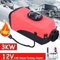 Samger 2kw 3kw 12В дизельный воздушный обогреватель для парковки автомобиля обогреватель для RV Camper Motorhome трейлер грузовики лодки обогреватель