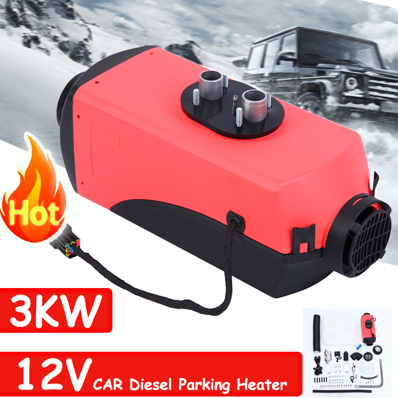 2KW 2000W 12V Air Diesel Heater LCD Thermostat For Car Trailer Truck Motorhome