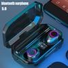 9D Noise Cancelling Wireless Headphones Bluetooth Sport Earphone Bluetooth 3300mah Touch Control Headphones Bluetooth Waterproof discount