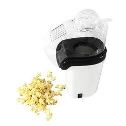 Maszyna do popcornu maszyna do popcornu na gorące powietrze + maszyna do robienia popcornu z miarka do pomiaru ziaren popcornu + stopiony masło biały (EU Pl w Maszynka do popcornu od AGD na