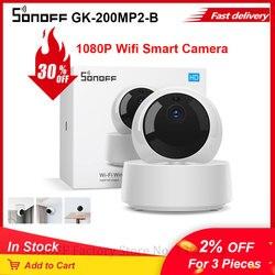 SONOFF камера GK-200MP2-B беспроводная Wifi камера IP 1080P HD детский монитор наблюдения безопасности 360 IR камера сигнализация Умный дом