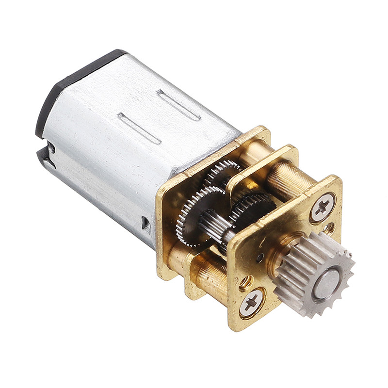 DC 12V 67RPM Cutting <font><b>Gear</b></font> Metal Gearbox Micro <font><b>Gear</b></font> <font><b>Motor</b></font> For 3D Drawing Pen 12mm Gearbox <font><b>N20</b></font> Geared <font><b>Motor</b></font> With Wire Cutting image