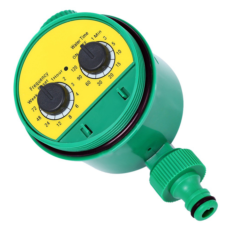 Garden Watering Analogue Controller self auto Water Irrigation Timers Two Dial timing Plastic Valve Automatic Electronic Faucet