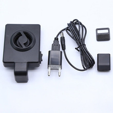Mini Low Noise Fish Tank Coldwind Cooling Fan Hang Fish Tank Marine Ponds Temperature Controller 110-230V ponds 50g