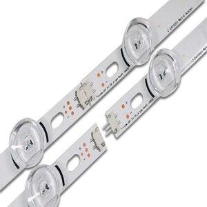 """Image 5 - 100% novo 8 peças (4 * a + 4 * b) barra de luz de fundo led para lg 39 polegada tv 390hvj01 innotek drt 3.0 39 """" a/b typ 4 leds 403mm, peças usadas"""