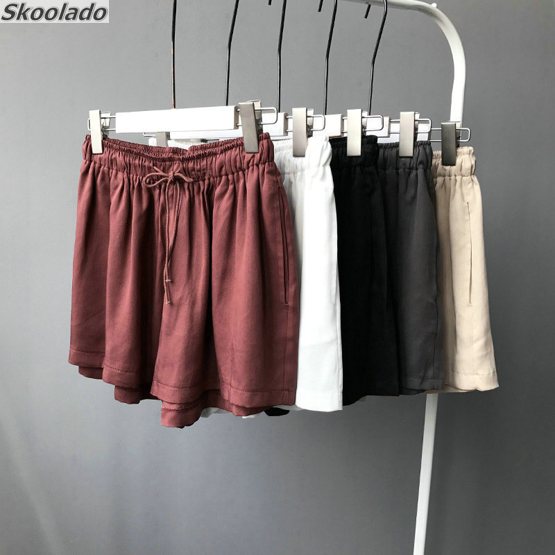 Women Linen Short Pants Oversize 2019 Autumn Casual Pant Loose Lady Fabric Linen Cotton Pant Solid Color Female Harem Pants Good