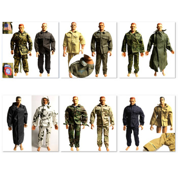 1/6 Scale Ultimate Soldier Camo Uniforms accessories Set for US Germany WWII Military  12 figure