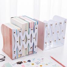 Металлическая подставка для книг, регулируемый держатель для книг, портативная прочная металлическая рамка для чтения с героями мультфильмов