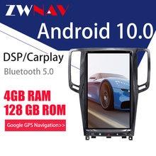 Zwnav android 10 px6 4g128g Тесла экран carplay для 2007 2013