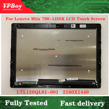 Assembly Touch-Screen Lenovo Matrix Lcd-Display New LED for Miix-700/12-80ql/Miix/..