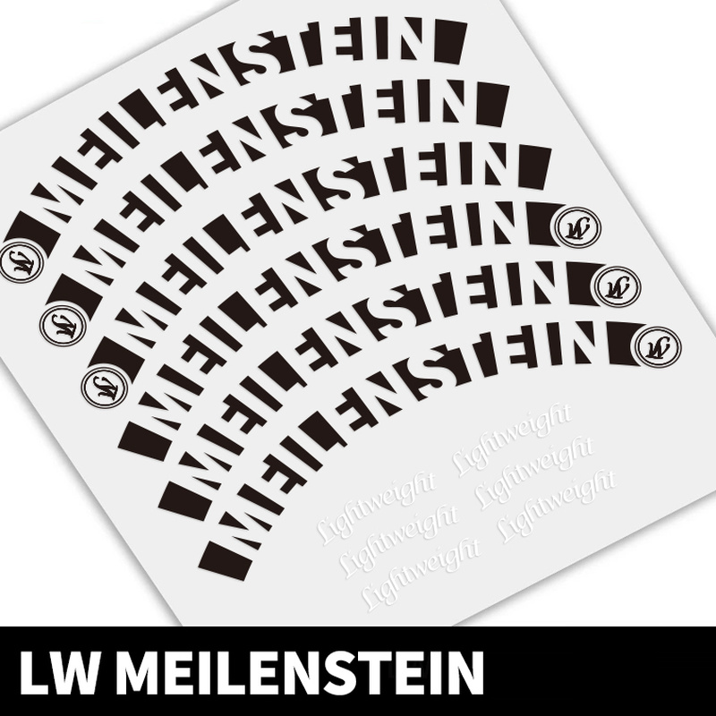 700C  38/50mm Road bicycle  reflective rim sticker cycle road wheels decal fo rlightweight meilenstein carbon wheel|Bicycle Stickers| |  - title=