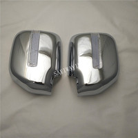 Auto Novel style Chrome plated door mirror covers with LED FOR TOYOTA NOAH 2000 Car modification