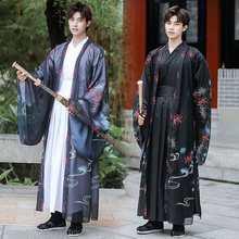 Homem hanfu chinês antigo tradicional roupas han dinastia espadachim masculino hanfu robe cosplay traje carnaval festa vestido