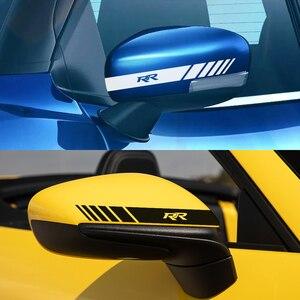 2 шт наклейки на зеркало заднего вида автомобиля для Honda FIT INSIGHT Джаз MUGEN RR Si типа R Тип S VTi авто аксессуары виниловые наклейки пленки|Наклейки на автомобиль|   | АлиЭкспресс