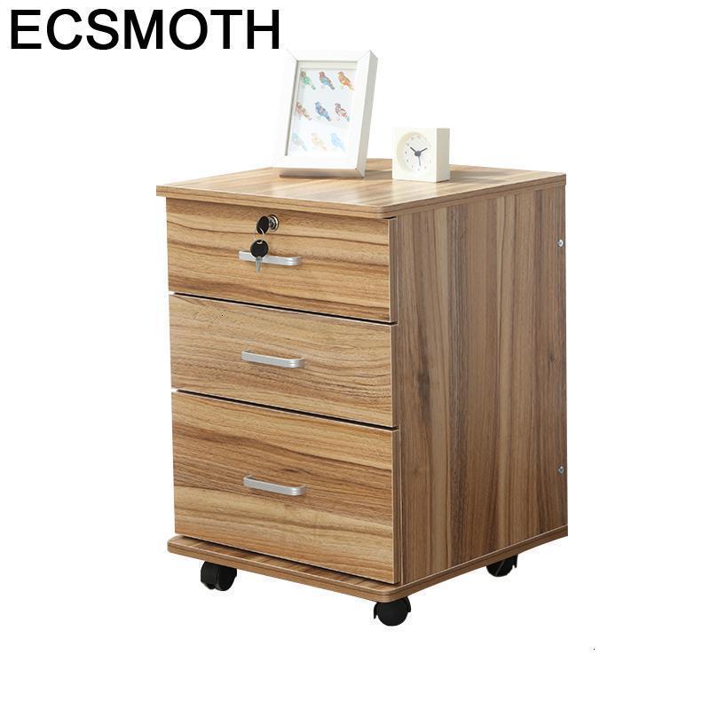 Meuble mesinha de cabeceira de móveis de quarto de madeira para o quarto