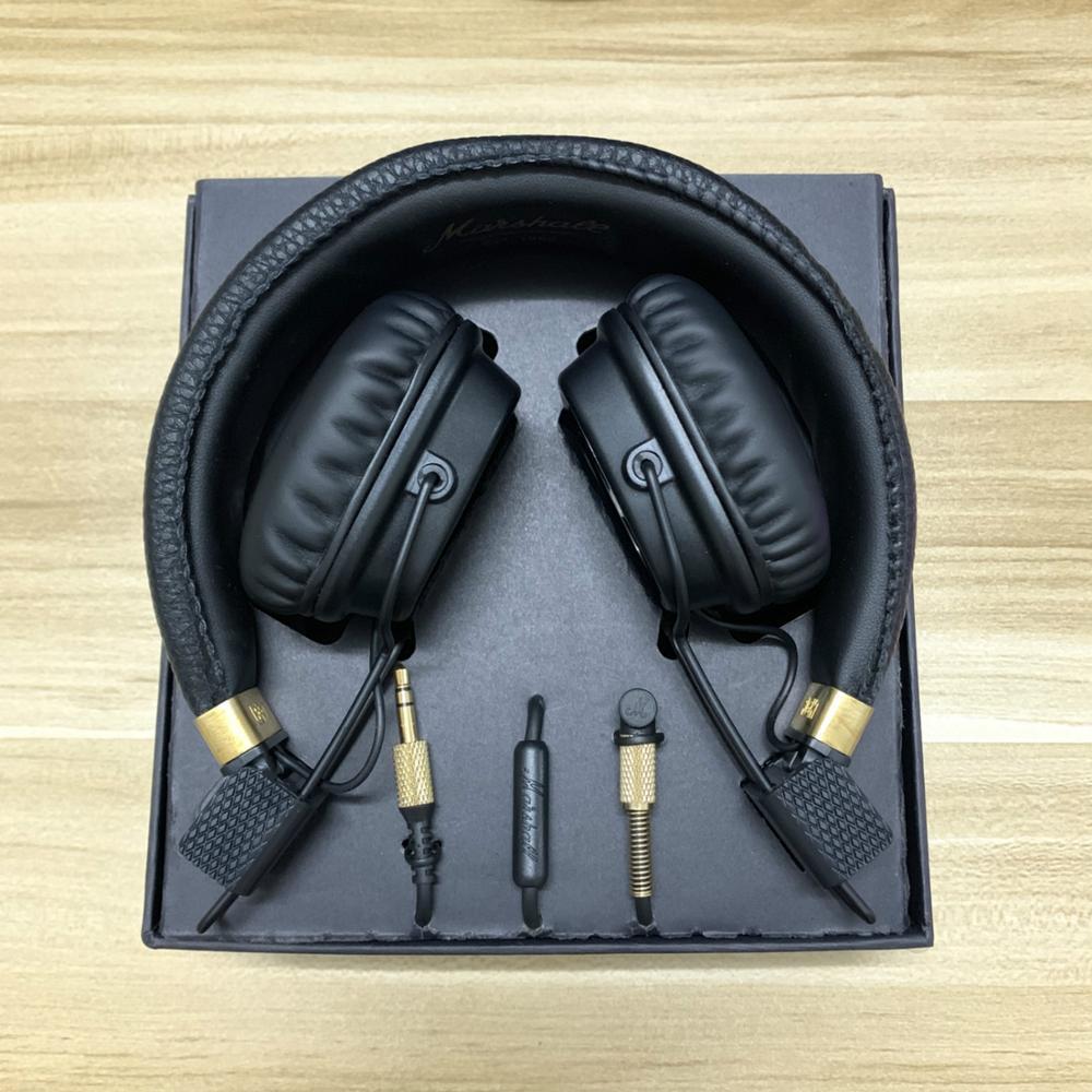 Major II Bluetooth Headphones Wireless Earphones 2nd Major Gaming Headsets For Phone PC As Marshall Headphones Good Quality