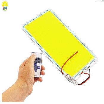 Panel de luz LED COB, tira de luz LED, lámpara de luz LED, mazorca, Blanco cálido, alto brillo, luz de trabajo, 220x120mm, 12V, 70W, 7000LM
