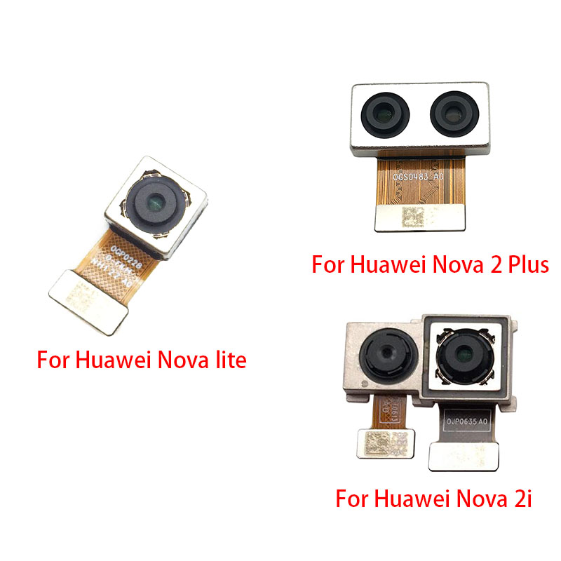 For Huawei Nova 2i 3 3i 3E 4E 2 Plus / Nova Lite Rear Main Back Camera Flex Cable Replacement