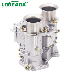 Image 2 - 2PCS X 40mm New Carburetor 40 DCOE 40DCOE  Weber Carb Assy For Twin Choke 4, 6Cyl 1975 1992 All VW V8 Engines 199550.174