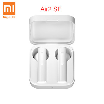 Original Xiaomi Air2 SE TWS True Wireless Stereo Bluetooth Earphone Headset Synchronous Link Low Lag 20h Long Standby With Box