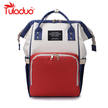 Nappy Backpack Bag Mummy Large Capacity Bag Mom Baby Multi-function Waterproof Outdoor Travel Diaper Bags For Baby Care bebewing mummy backpack large capacity bag baby multi function waterproof outdoor travel bag for baby care baby stroller