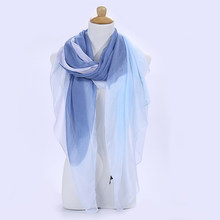 2020 Women Autumn Winter Scarf Pashmina Cape Luxury Warm Patchwork Linen And Cotton Fashion Female Multi-purpose Shawl(China)