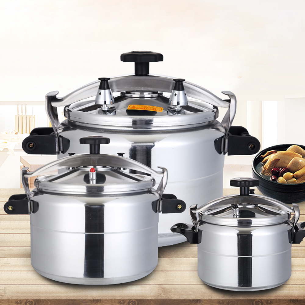 Pressure Cooker Commercial Large Capacity Gas Cooker  Pressure Cooker Stew Pot Kitchen Cookware safety pan induction cooker pot