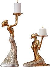 Candelabros De decoración romántica para el hogar, Centro De Mesa para decoraciones De boda, color dorado