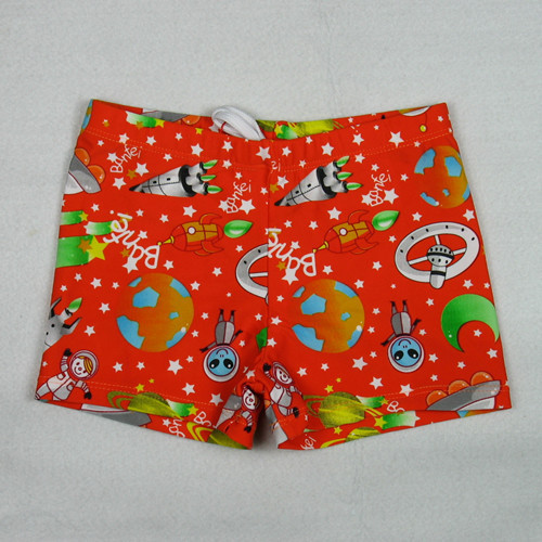 Banfi Cartoon Spaceman CHILDREN'S Swimming Trunks Baby AussieBum BOY'S Boxer Shorts Boy Swimming Shorts