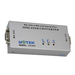 UT-2112 232 Serial Photoelectric Isolator 9-wire All-pass RS232 Serial Port Repeater Lightning Protection Communication Module